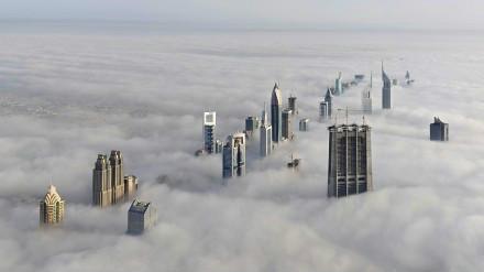 Dubai,Cloudy A Day